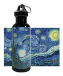 Stainless Steel Water Bottle - Starry Night
