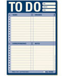 To Do List Notepad Stationary