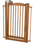 Richell One Touch Pet Gate - Autumn Matte