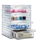 Four-Drawer Acrylic Storage Chest