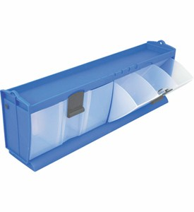 Tilt and Lock Storage Bins Image