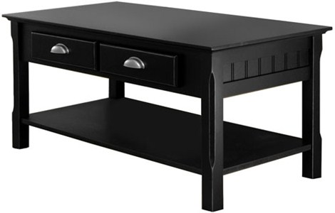 Timber Coffee Table - Black Image