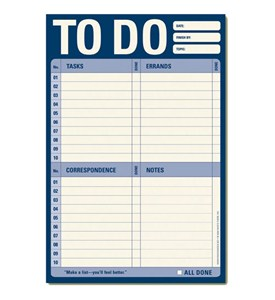 To Do List Notepad Stationery Image
