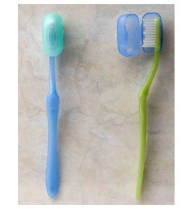 Suction Cup Toothbrush Covers (Set of 2) Image
