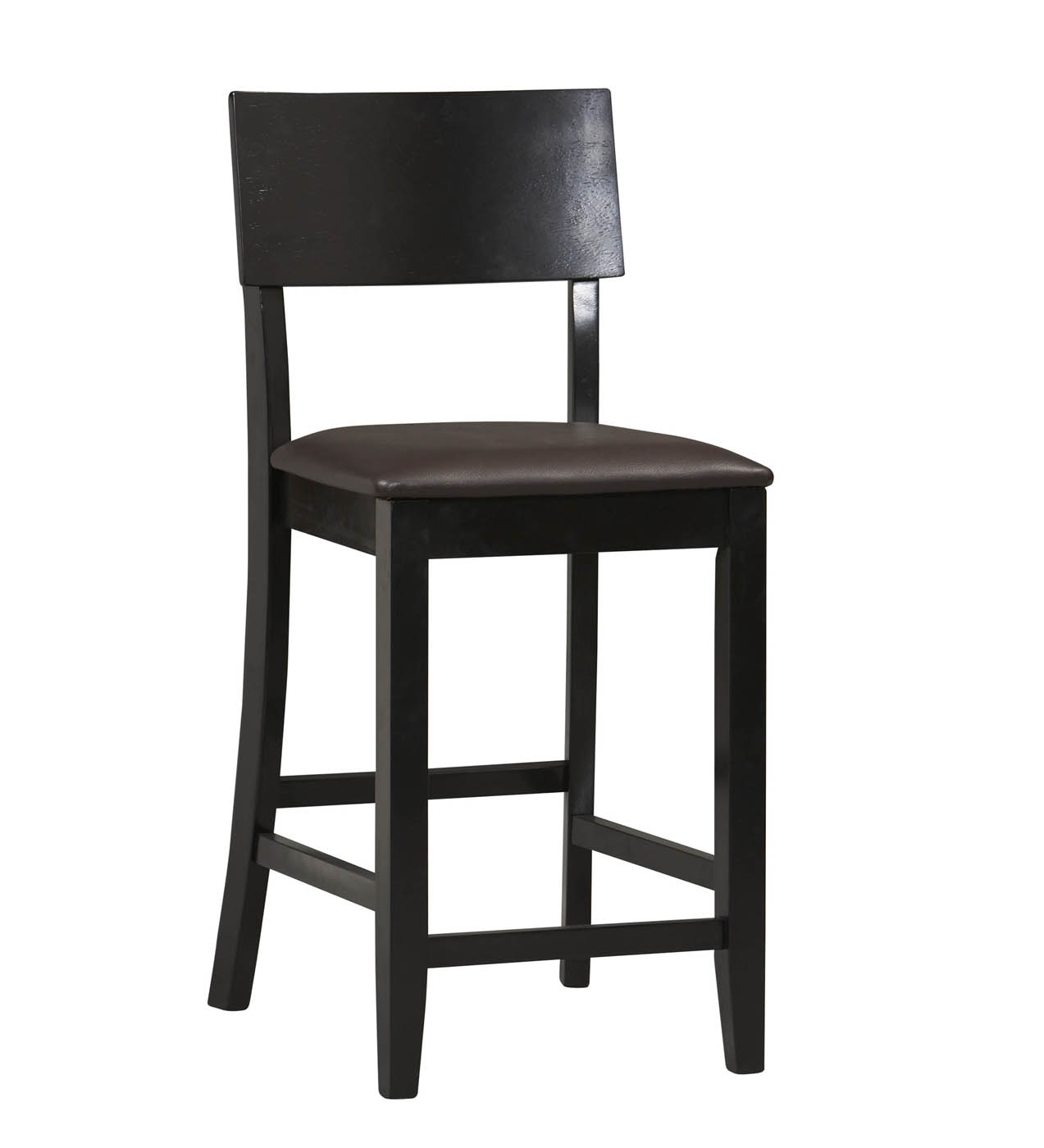 Torino Collection Contemporary Stool By Linon In Counter