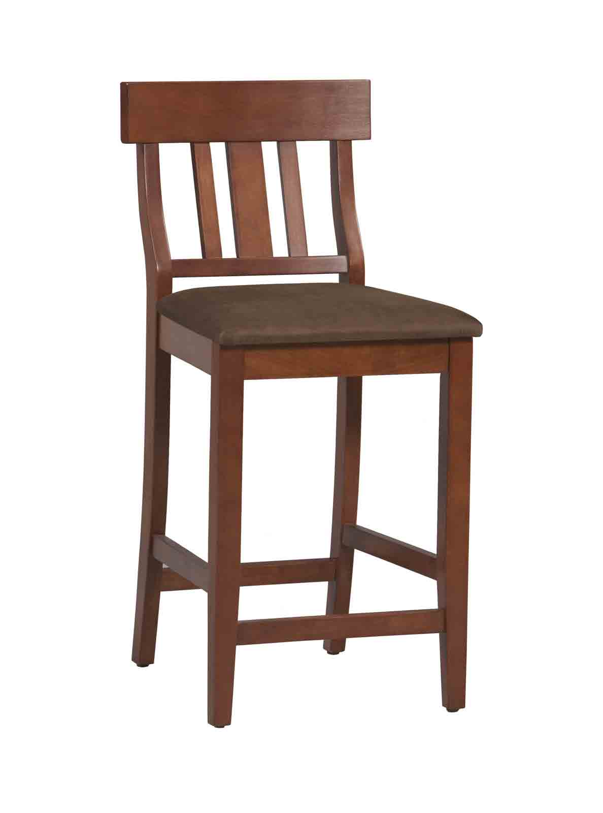 Torino Collection Slat Back Bar Stool 30 By Linon In Wood