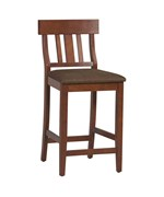 Torino Collection Slat Back Bar Stool 30 by Linon