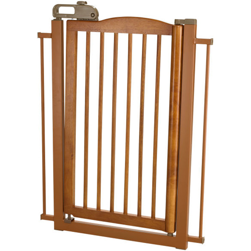 Richell One Touch Pet Gate - Autumn Matte Image