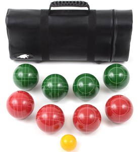 Tournament Bocce Set with Case Image