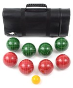 Tournament Bocce Set with Case