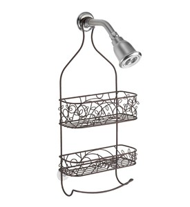 Towel Bar Shower Caddy Image