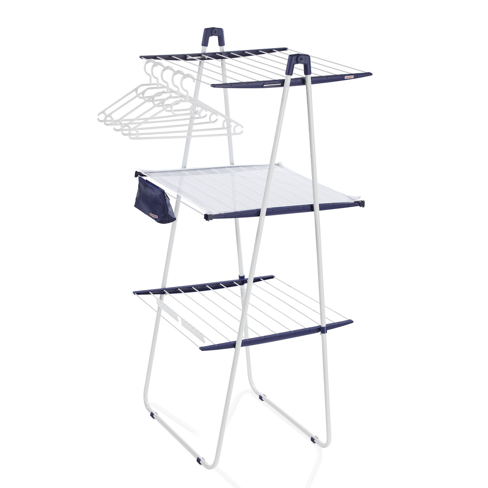 laundry folding drying rack tower 200 deluxe indoor and outdoor drying rack by household essentials