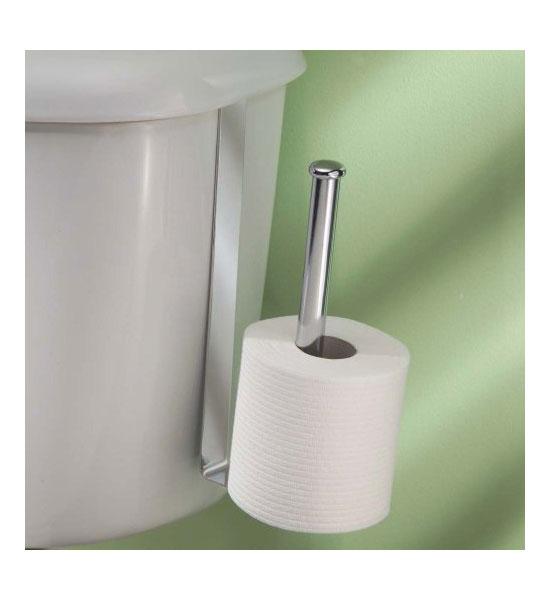 over tank roll reserve in toilet paper storage. Black Bedroom Furniture Sets. Home Design Ideas