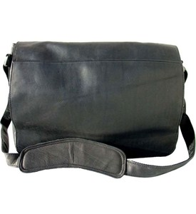 Leather Messenger Bag Image