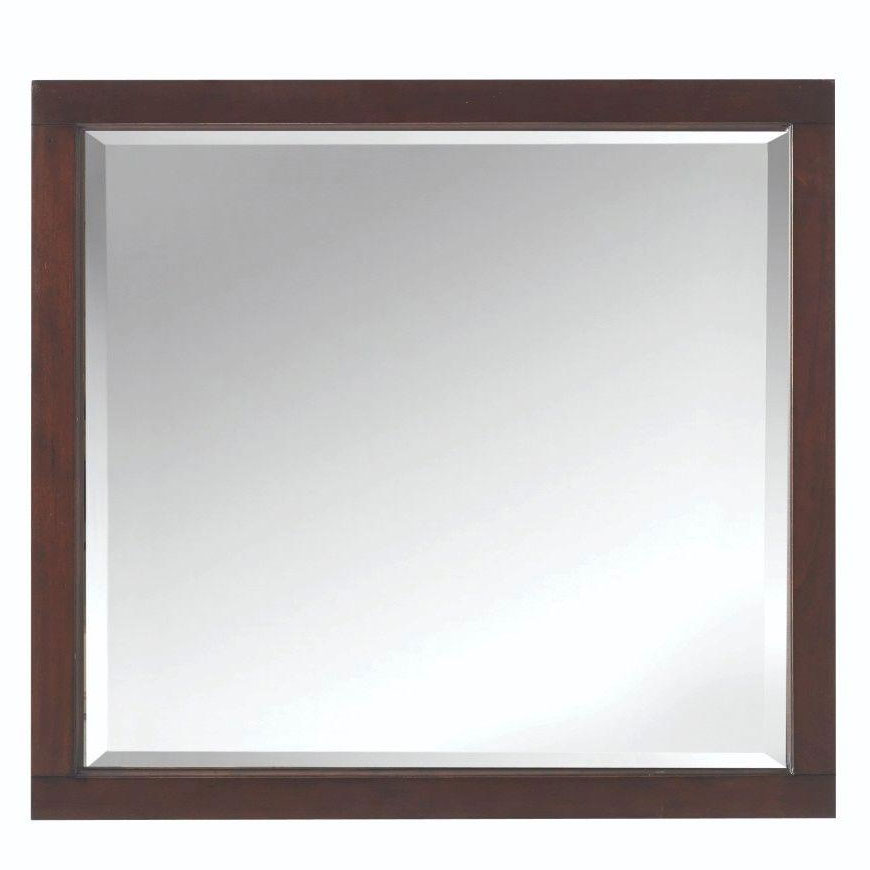 Traditional frame mirror in framed mirrors for Traditional mirror