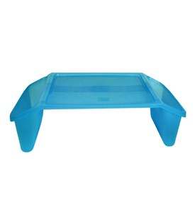 Childrens Lap Desk - Translucent Blue Image