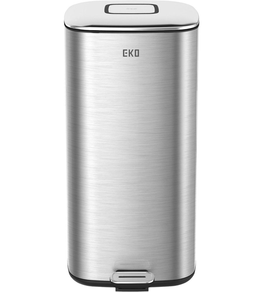 trash receptacle square stainless steel 32l price