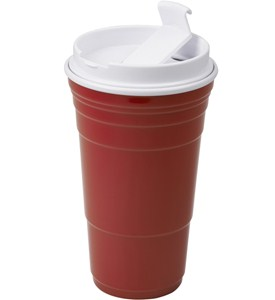 Travel Tumbler - Red Party Cup Image