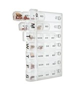 Divided Seven Day Travel Pill Organizer