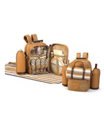 Picnic Basket Backpack for 4
