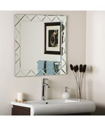 Triangle Border Wall Mirror