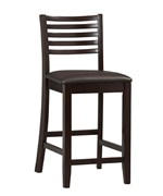 Triena 24 Inch Ladder Counter Stool