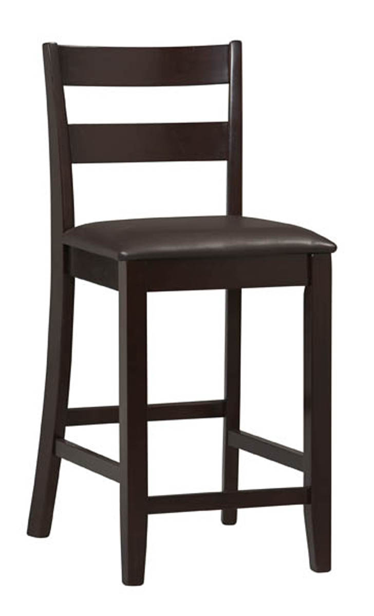 Triena Collection Soho 24 Inch Counter Stool By Linon Home Decor In Wood Bar Stools
