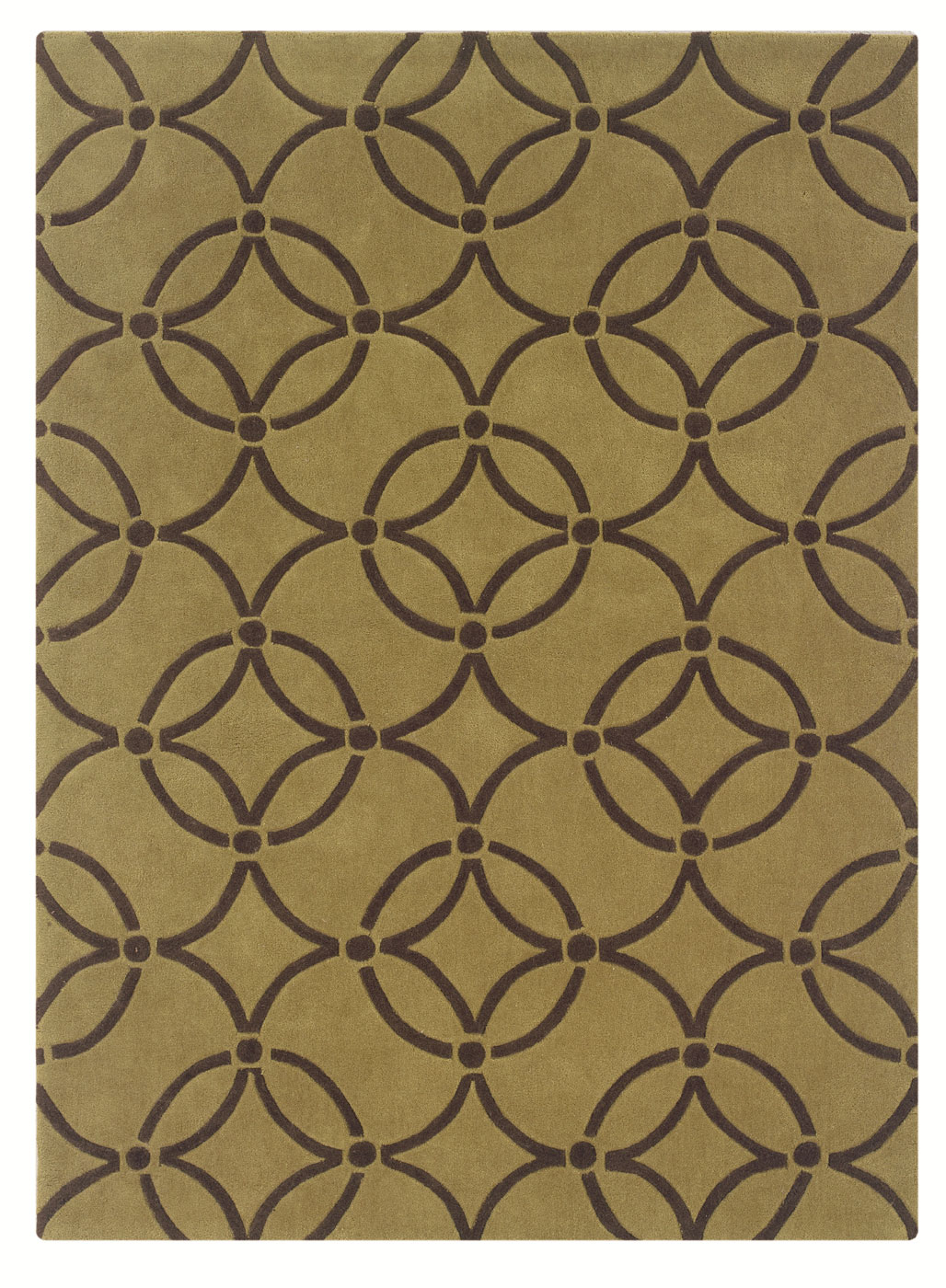 trio collection rug by linon home decor in patterned rugs