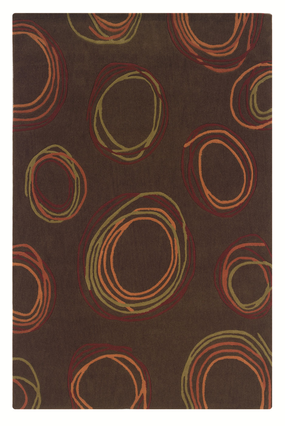 Trio collection rug by linon home decor in accent rugs for Home accents rug collection