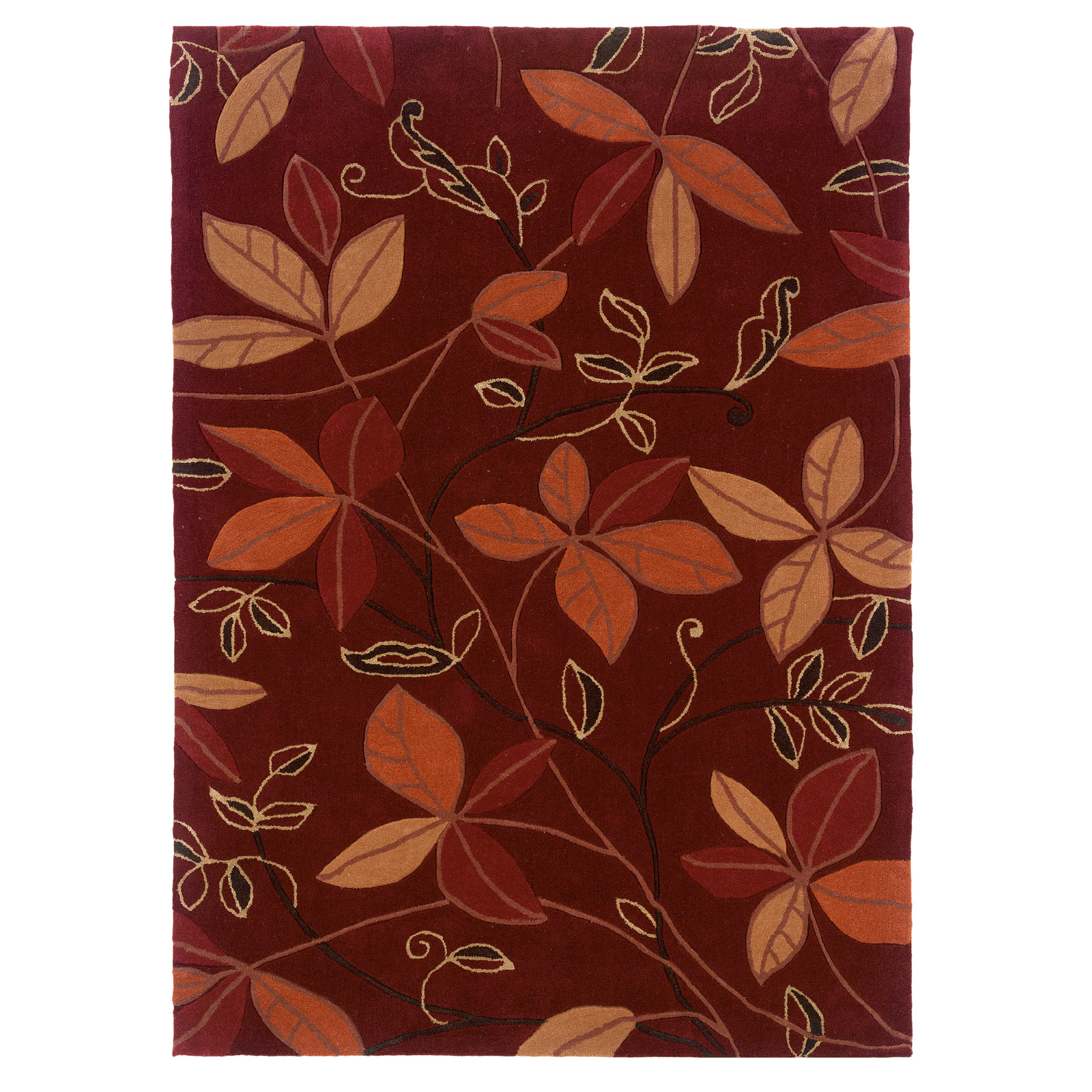 Trio Collection TAD0157 5x7 Area Rug By Linon In Patterned