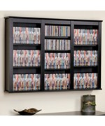 Triple Floating Media Storage - Black