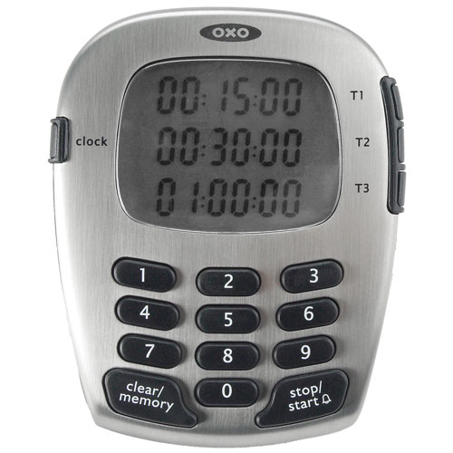 Oxo Good Grips Triple Kitchen Timer In Kitchen Timers