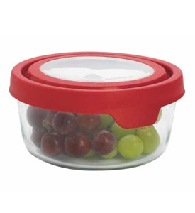 Glass Storage Container - TrueSeal - 4 Cup Image