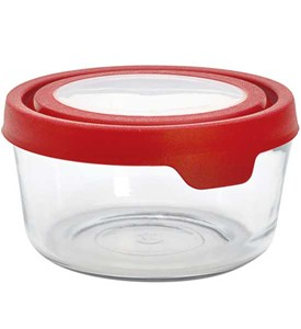 Glass Storage Container - Anchor - 7 Cup Image