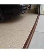 Tsunami Garage Door Seal - Brown