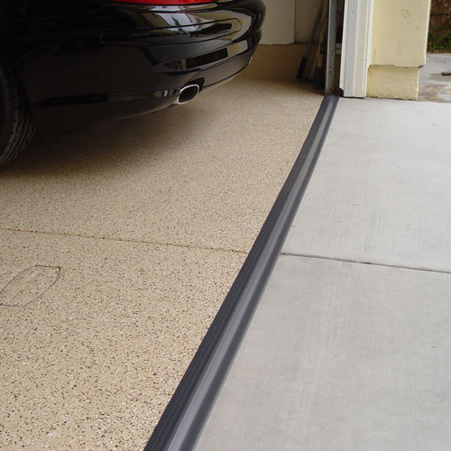 Tsunami Garage Door Seal Gray In Garage Floor Protection