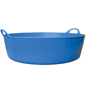 Large Shallow Tubtrugs Storage Tub Blue In Storage Tubs