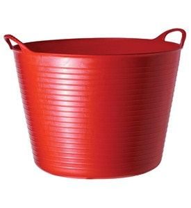 Large Tubtrugs Storage Bucket - Red Image