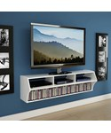 TV Console - Wall Mounted White