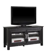 44 Inch Wood TV Stand with Glass Doors by Walker Edison
