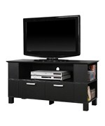 44 Inch Wood TV Stand with 2 Drawers by Walker Edison