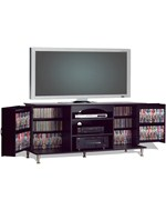 TV Console with Media Storage