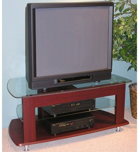 TV Entertainment Stand - Cherry Image