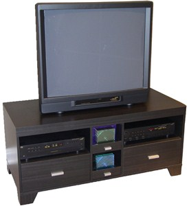 TV Stand with Pull Out Storage Image