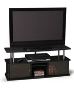 TV Stand with Three Cabinets by Convenience Concepts