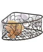 Suction Corner Shower Basket - Twigz