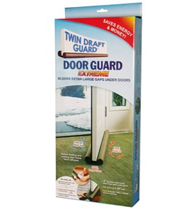 Twin Door Draft Guard Image