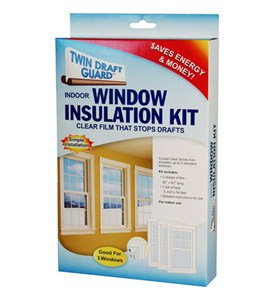 Twin Draft Guard Window Insulation Kit Image