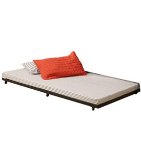 Twin Roll-Out Trundle Bed Frame by Walker Edison Image