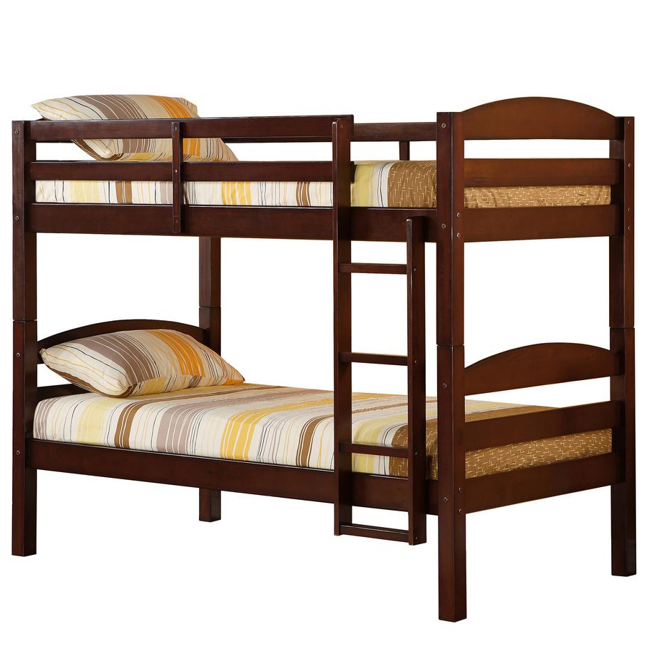 Kids Bedroom Furniture Stores: Twin Size Kids Bunk Bed In Bunk Beds